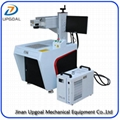 White Plastic Laser Marking Machine UV Laser 3W