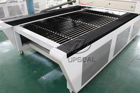 Welding machine bed