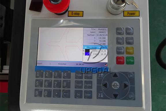RuiDa 6445G control panel