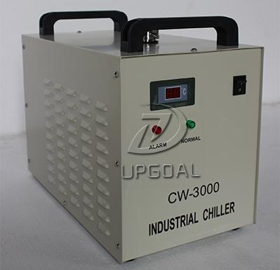 Industrial chiller CW-3000, ensuring the laser tube long timecontinuousworking.