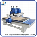 2 Heads  CNC Woodworking Furniture Engraving Cutting Machine with Vacuum Table