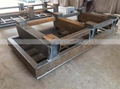 Strong welded steel T type structure