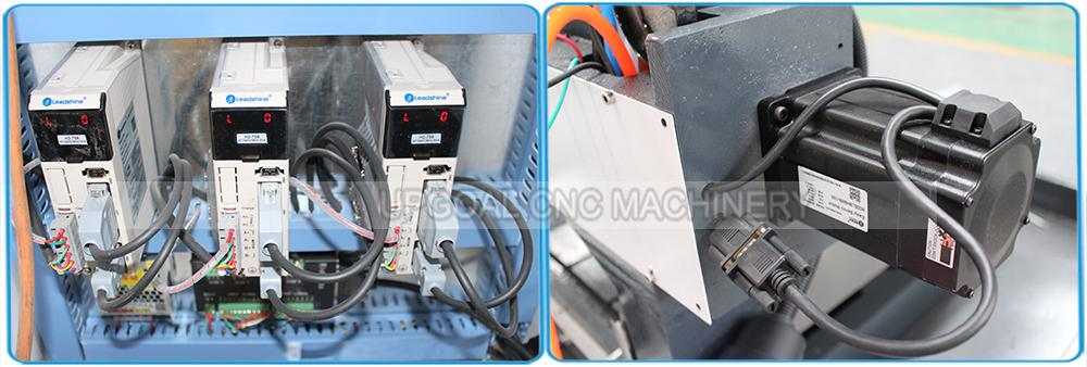 China Leadshine hybrid servo motor and hybrid servo driver H2-758 for XYZ-axis,