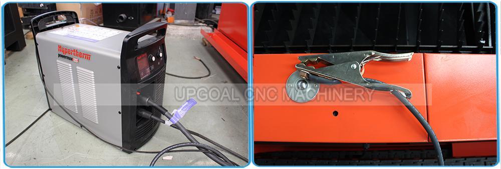 Hypertherm powermax 125A plasma power supply, cutting thickness 25-30mm