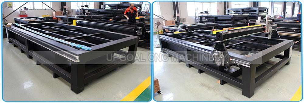 Heavy duty strong welded square steel tube machine holder/bed/gantry