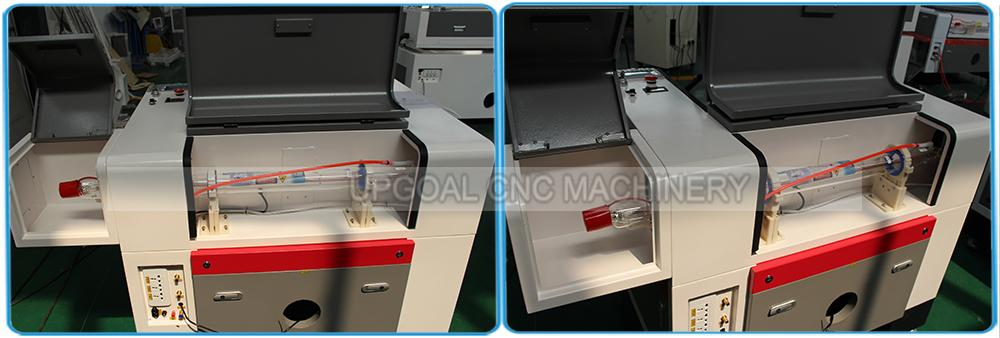 Small CCD Co2 Laser Cutting Machine for Woven Label/Printed Label 13