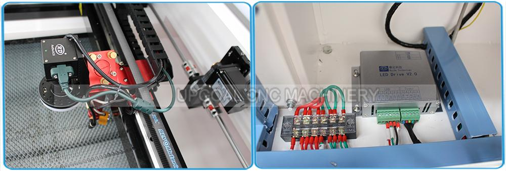 Small CCD Co2 Laser Cutting Machine for Woven Label/Printed Label 10