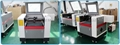 Small CCD Co2 Laser Cutting Machine for Woven Label/Printed Label