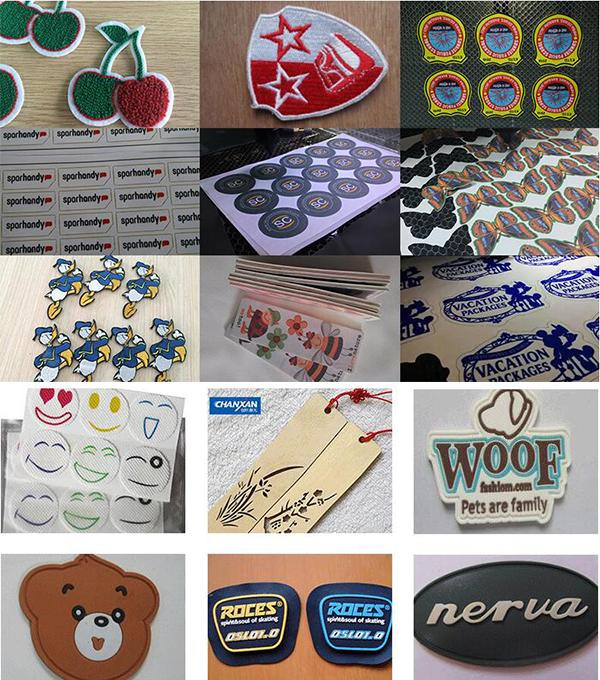 Small CCD Co2 Laser Cutting Machine for Woven Label/Printed Label 17