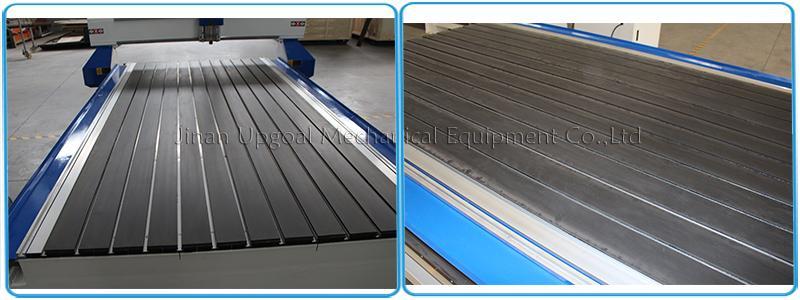 Aluminum alloy T slot working table