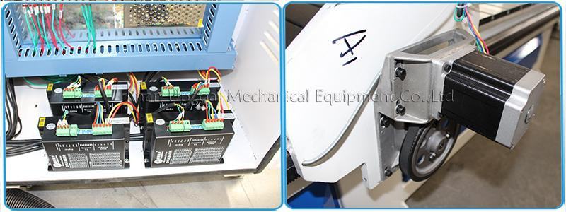 BYGH450B stepper motor and stepper driver 860 for XYZ-axis,