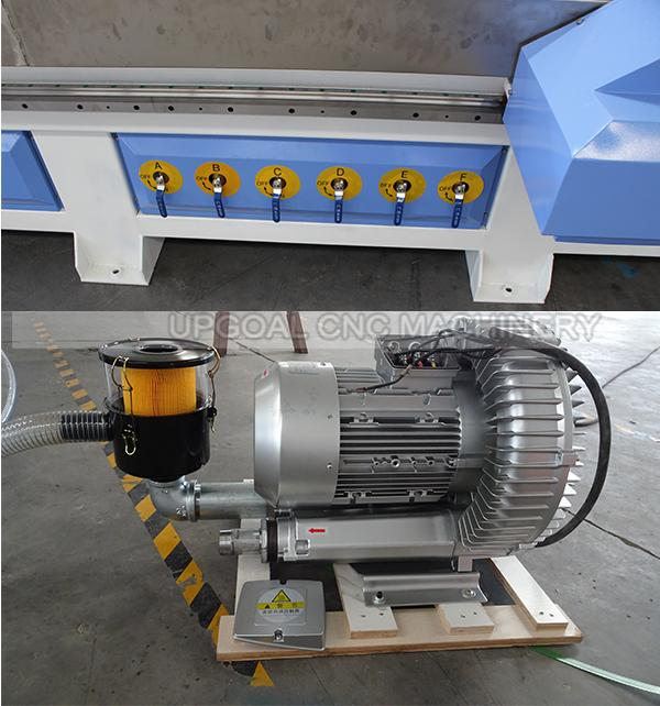 with 7.5kw air cooling vacuum pump