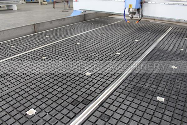 Vacuum adsorption table with aluminum alloy T slot