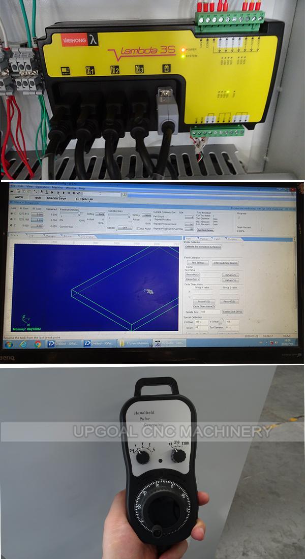 Original Weihong PCI NcStudio controller with handhwheel,