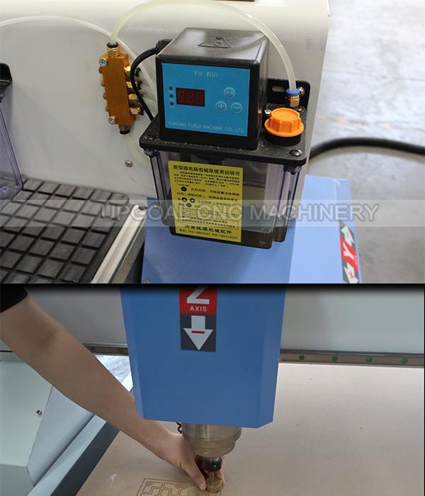Auto lubrication and auto tools calibration