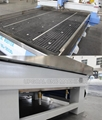 Stainless steel water slot cooling system with water mist cooling, ensuring the cooling for the metal & hard materials.