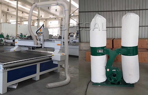Dust collector, 3.0kw, double bags