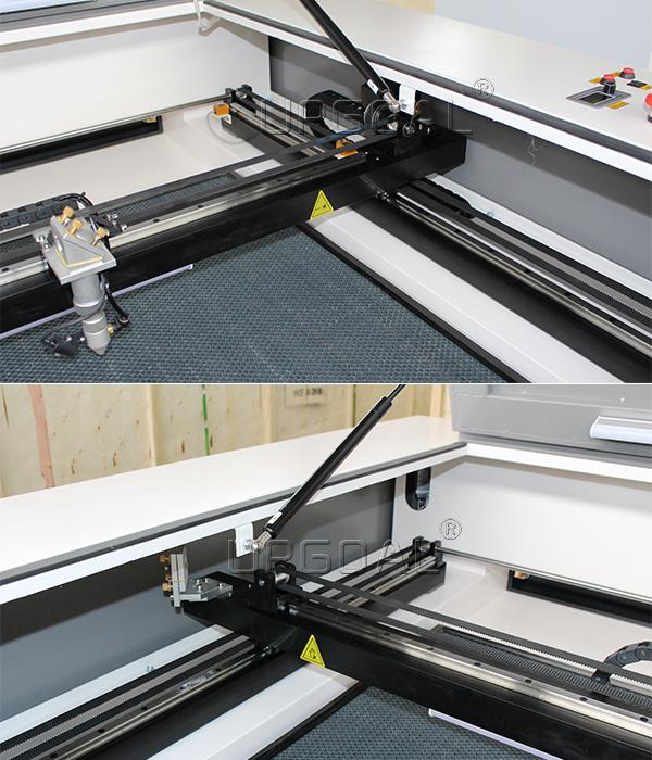 Hiwin linear square guide rails and blocks with 3M belt ensured stable transmission, lower noise