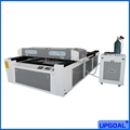 500W Mixed Co2 Laser Cutting Machine for Stainless Steel/Acrylic/Plywood 4*8feet