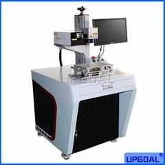 3W UV Laser Marking Machine for White remote Controller & Aluminum Foil Bag