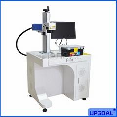 Animal Ear Tag Number Logo Laser Marking Machine 20W