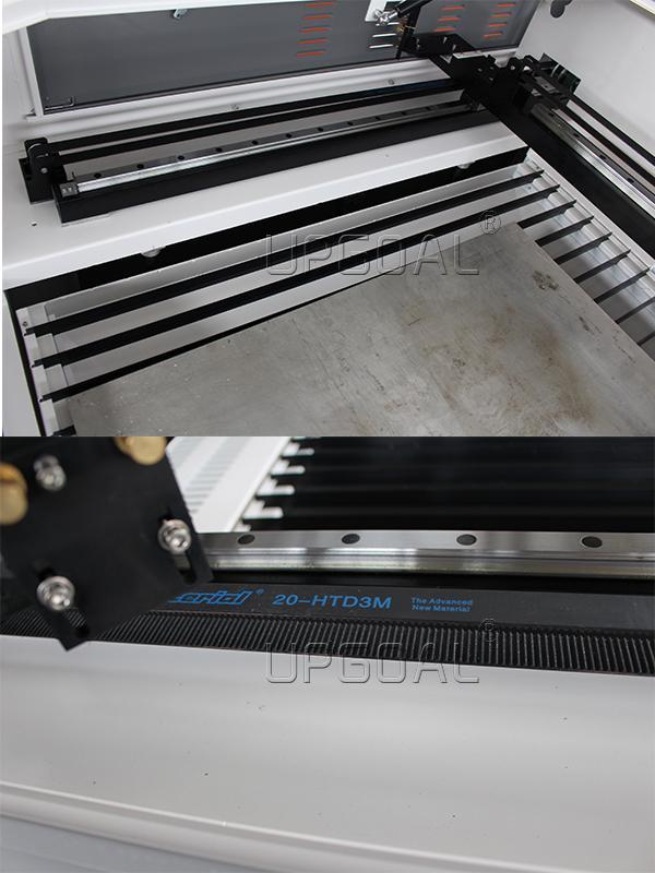 CSK Taiwan linear square guide rail & 3M belt transmission