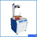 Metal Pen Fiber Laser Marking Machine with Disc Rotary Table