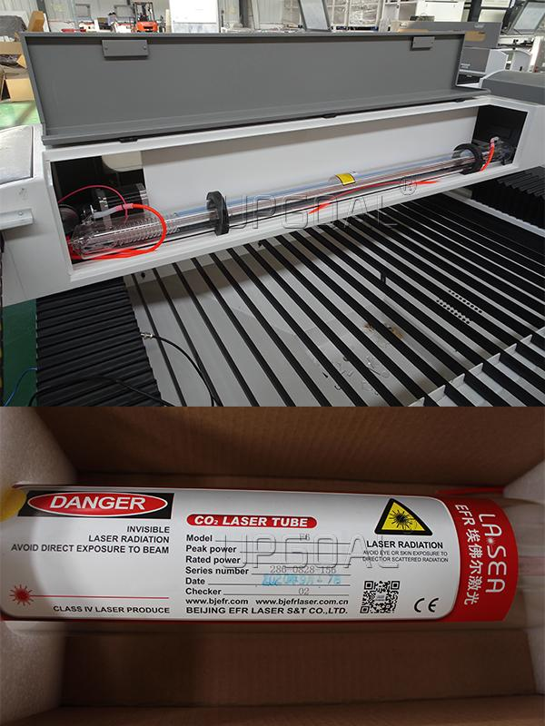 high quality EFR F6 130W  Co2 laser tube,  long working time time and stable
