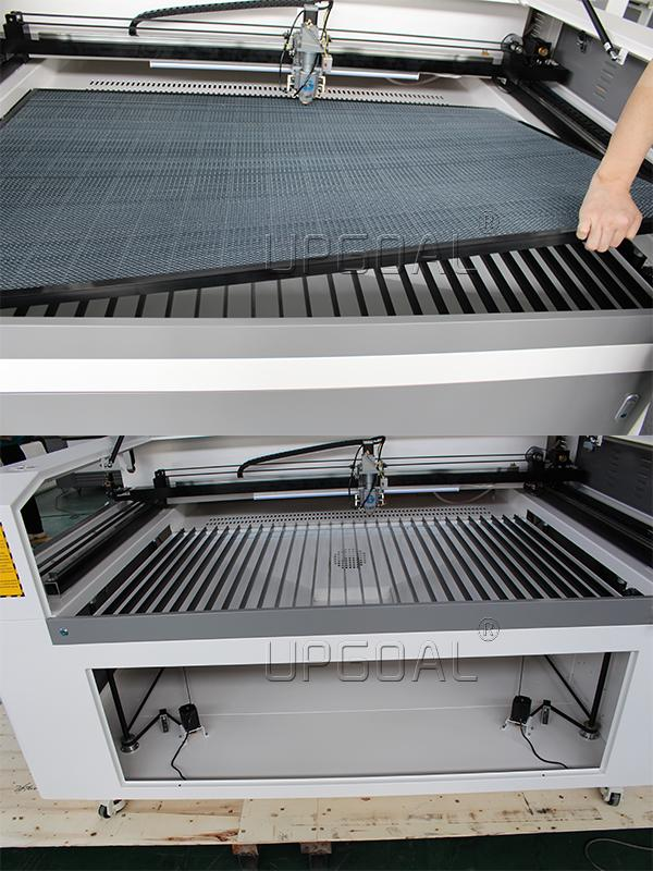 500W Mixed Steel/Wood/Acrylic Co2 Laser Cutting Machine 1300*900mm 14