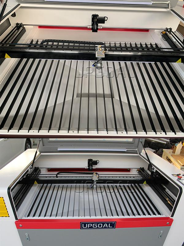 Knife Strips working table: With oxidation treatment and low reflection ratio ensured cutting quality