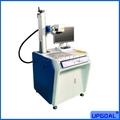 20W/30W/50W Metal/ Plastic Fiber Laser Marking Machine with Rotary Device
