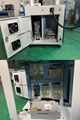 One piece design of control cabinet and marking table,