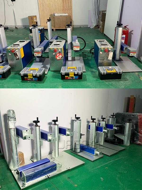 One piece design of control cabinet and marking table