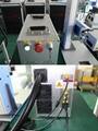 20W Small Desktop Fiber Laser Marking Machine for Metal Nameplate/Label