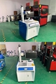 50W Fiber Laser Marking Machine with Smoke Purifier For Brass/Stainless Steel