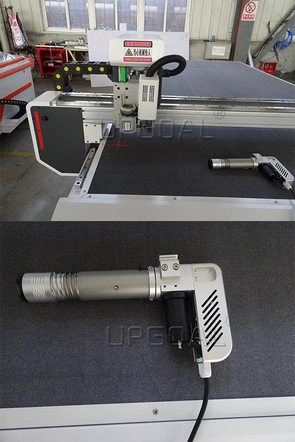 The ultra-high frequency vibration knife cutting technology eliminates the irregularities of manual cutting, the limitation of the accuracy of the punching machine, and the scorching odor of the laser cutting machine.