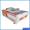 Carton Box/ Cardboard Box CNC Vibration Knife Cutting Machine with Creasing Whee
