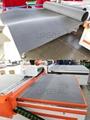 Whole cast aluminum vacuum table with adsorption felt,