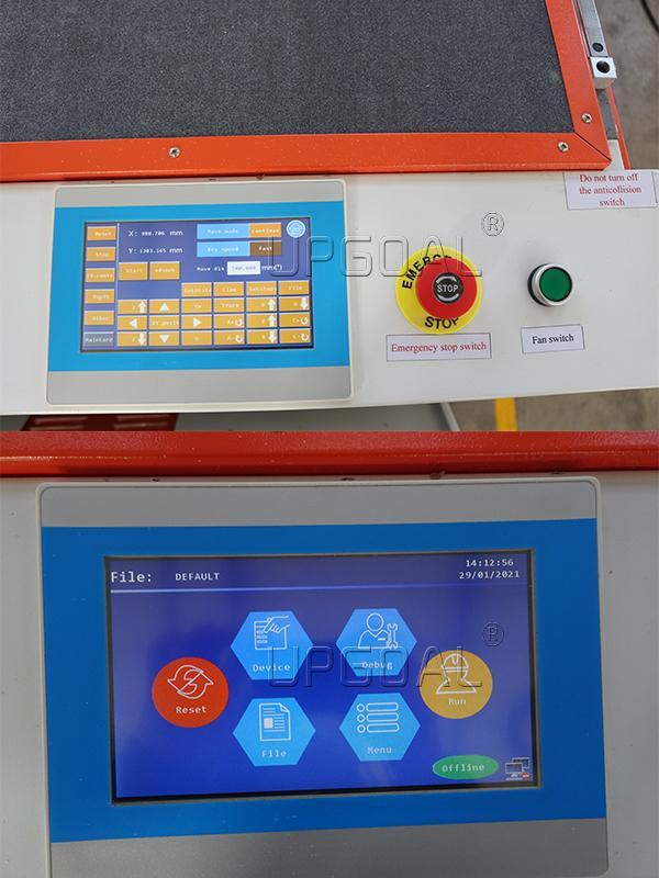 famous RuiDa RDD6584G touch screen control system