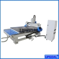 Factory Supplied Woodworking Furniture CNC Router Machine with Vacuum Table