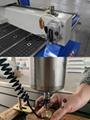 Semi-auto lubrication and auto tools calibration system