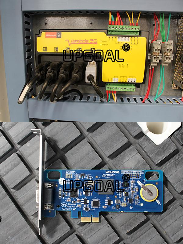 Original Weihong PCI NcStudio controller with wireless handwheel,