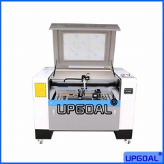 AC110V AC220V 9060 Co2 Laser Engraving Cutting Machine with Rotary Axis