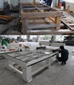 Strong welded steel tube structure as a whole