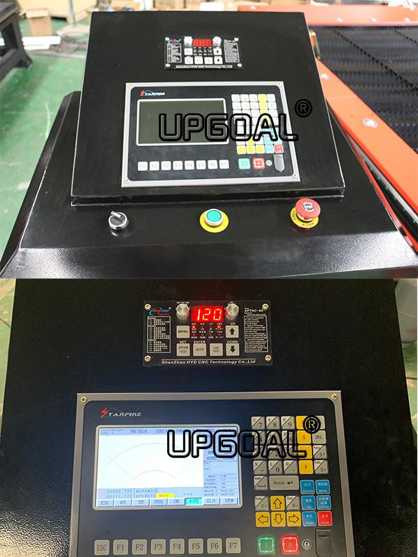 CNC Control system ( STARFIRE, Beijing, China, Supports both plate and tube cutting )
