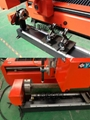 Rotary axis for tube cutting: diameter 200mm, length 3000mm, reduction gear transmission