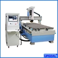 Adopted with  famous China HQD 9.0KW ATC air cooling spindle, high precision, low noise, high RPM, long life time , and stable moving.