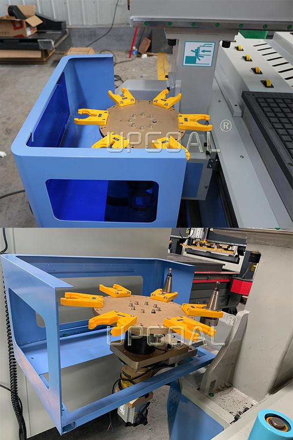 Hot Sale China 1325 Woodworking Furniture ATC CNC Router Machine Disc Type 10