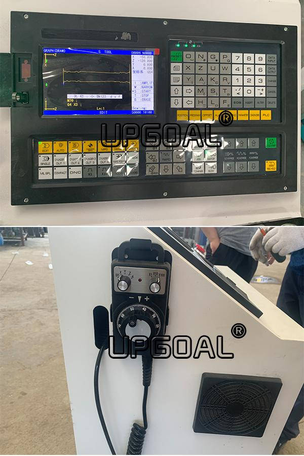 Adporting famous GXK controller with handhweelUSB connection, easily to change the pattern, no need programming at site, system can upgrade