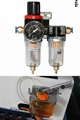 Oil-water separtor & semi-auto lubrication pump